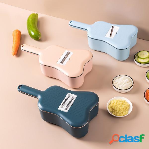 Forma de violino cortador de legumes ferramenta de cozinha ralador de legumes