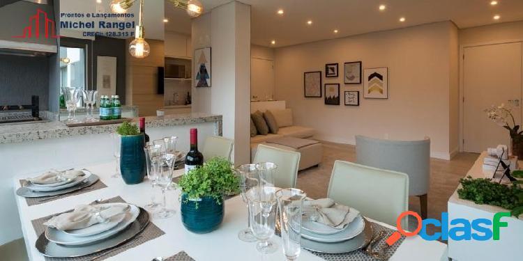 Apartamento na vila olimpia | quadrilátero | pronto para morar - 101,76m²