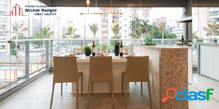 Apartamento na vila olimpia | quadrilátero | pronto para morar - 81m²