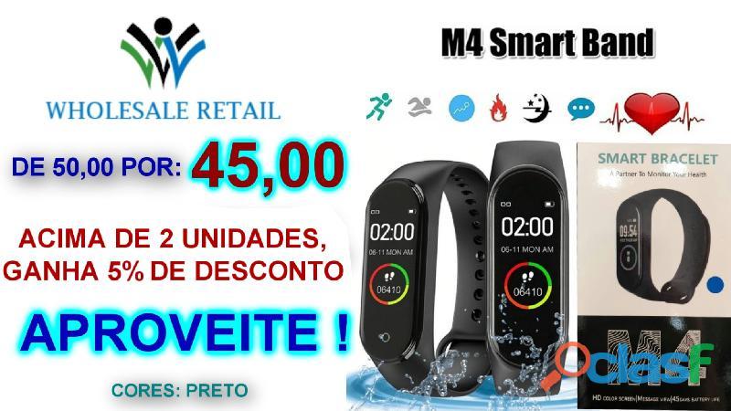 M4 Smart band, Relógio Inteligente. Aproveite a nossa oferta e Garante o Seu 2