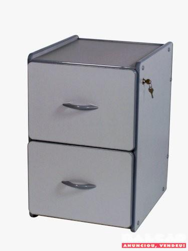 Arquivo com 2 gavetas para pastas suspensas