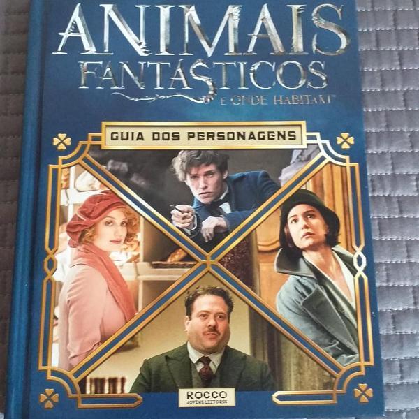 Animais fantásticos e onde habitam guia dos personagens
