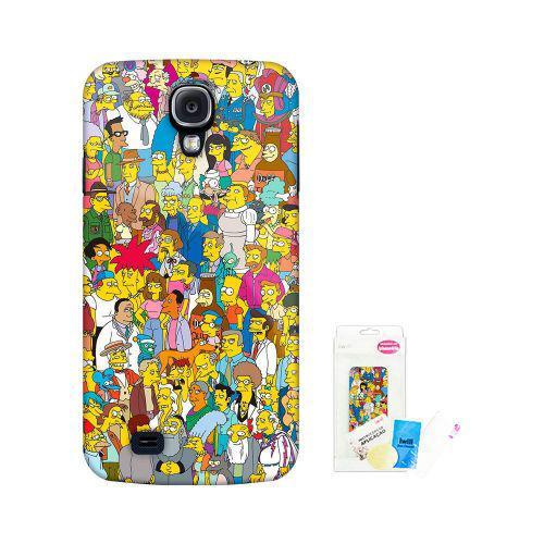 Capa Para Celular Iwill Galaxy S4, The Simpsons, SIMP-S401