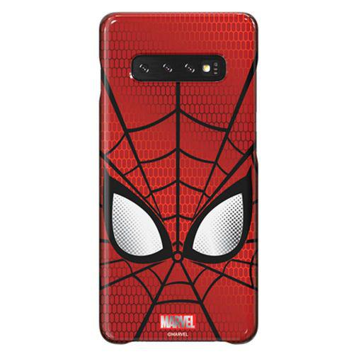 Capa protetora samsung galaxy s10+ marvel series smart coves