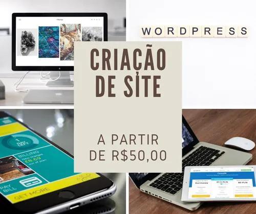 Criação de site profissional, 100% responsivo e a partir