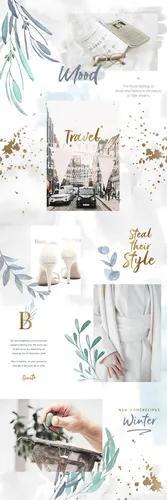 Feed estilo quebra-cabeça para instagram (modelo 01)