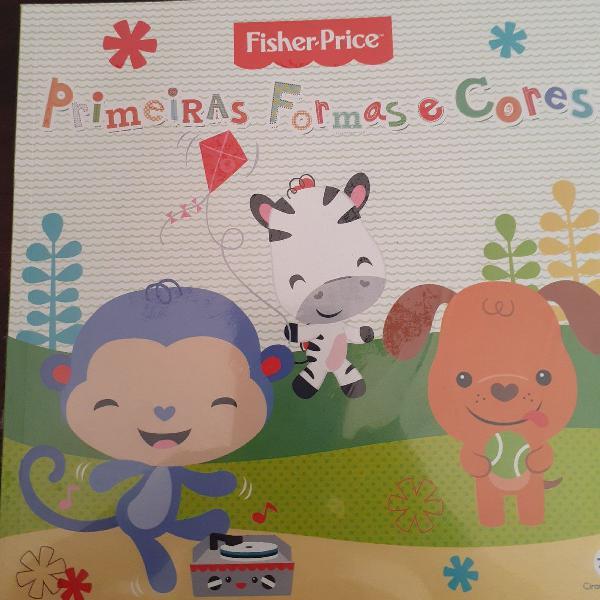 Fisher-price - primeiras formas e cores