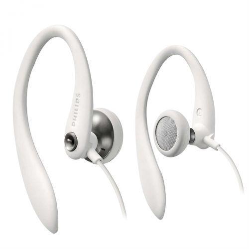 Fone de ouvido esportivo com gancho shs3300wt//10 branco