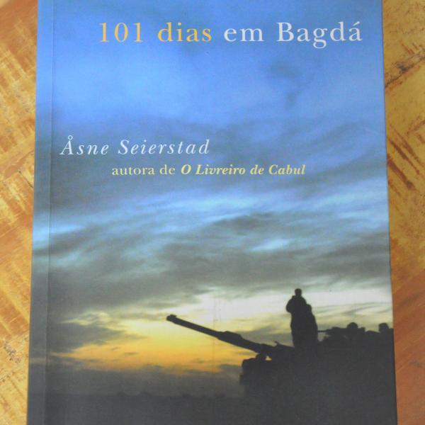 Livro 101 dias em bagdá, de åsne seierstad