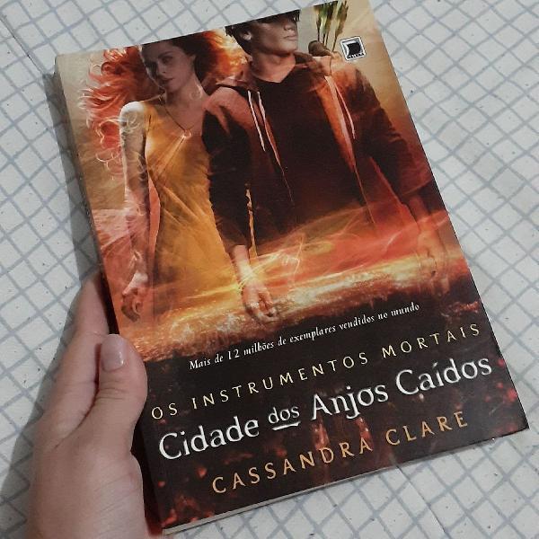 Livro cidade dos anjos caídos