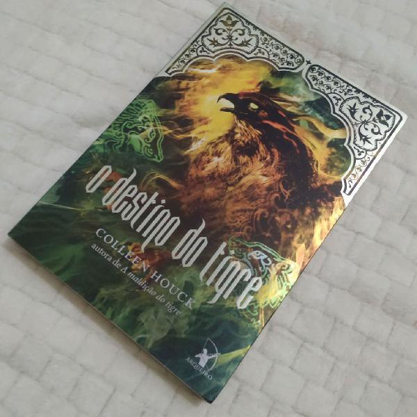 Livro Novo - O Destino do Tigre