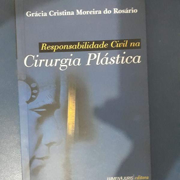 Livro responsabilidade civil na cirurgia plástica - gracia