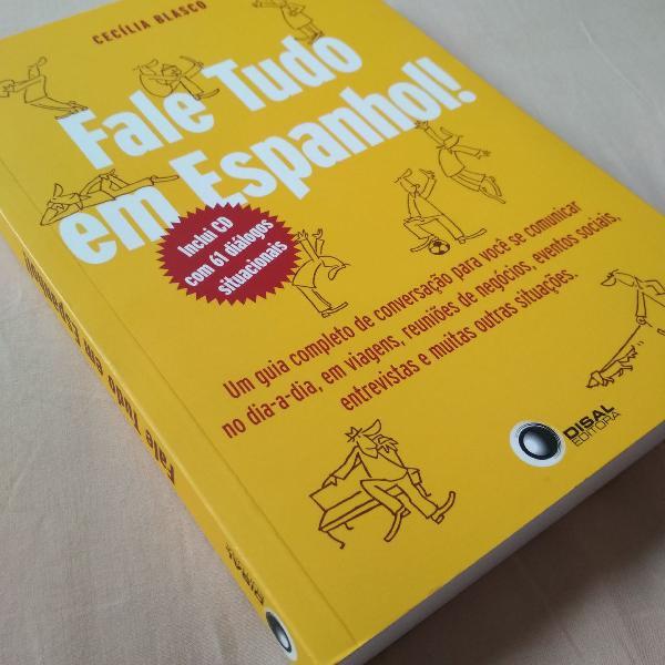 Livro fale tudo em espanhol cecília blasco