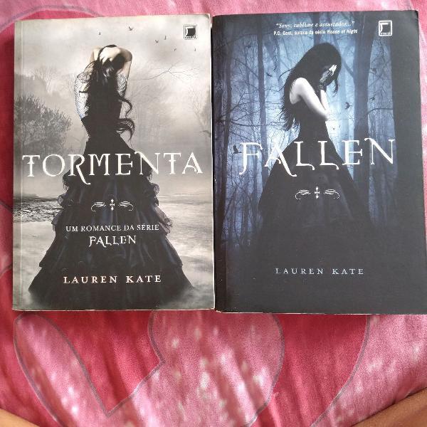 Livros fallen e tormenta