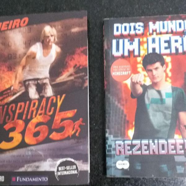 Livros juvenil - adolescentes - kit 2 livros - conspiracy