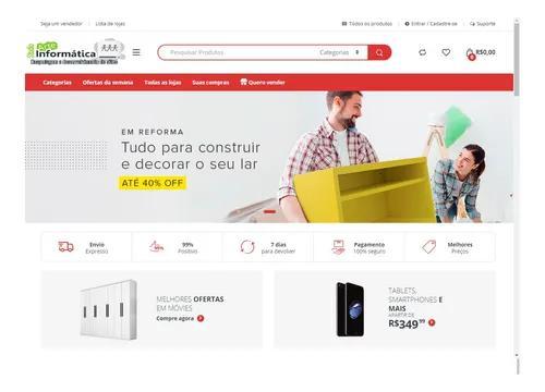Plataforma para marketplace completa com