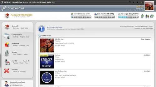 Radio completa streaming + site administravel + programetes