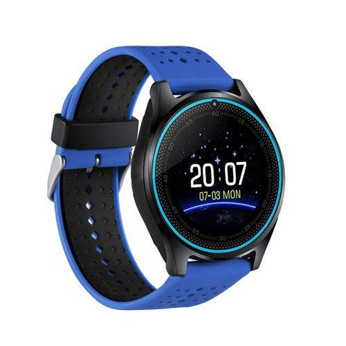 Relogio smartwatch inteligente v9 sport bluetooth camera
