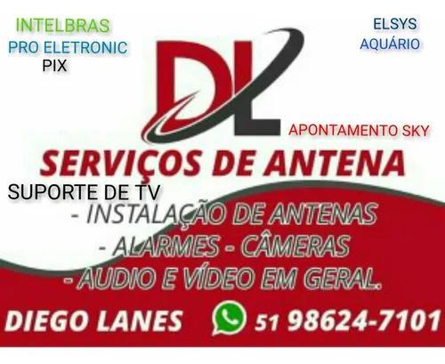 Revisão e instalação de antenas digital