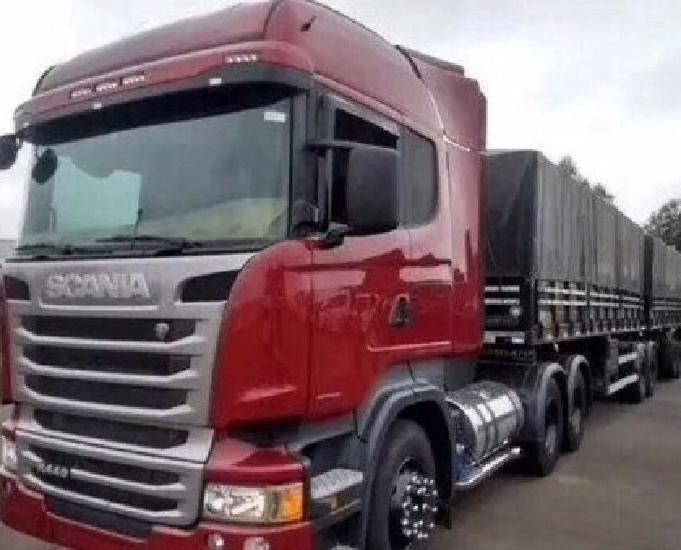 Scania r440 ano 2015 7 eixos