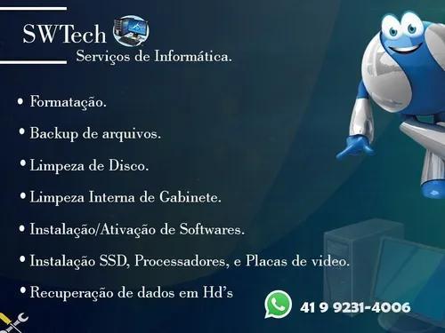 Serviços de informática swtech