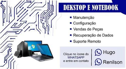 Serviços técnico de manutenção de computador e notebook