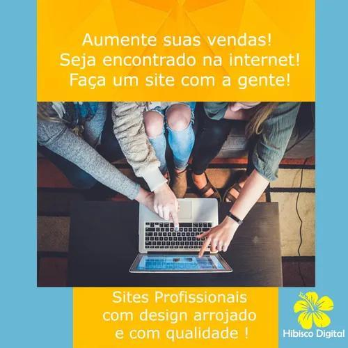 Sites profissionais e páginas na internet