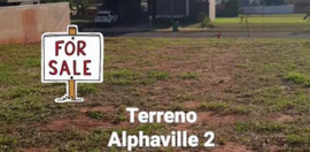 Terreno alphaville 2 - mgf imóveis