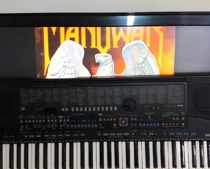 Vd.(teclado yamaha psr 510) e (amplificador meteoro atomic)