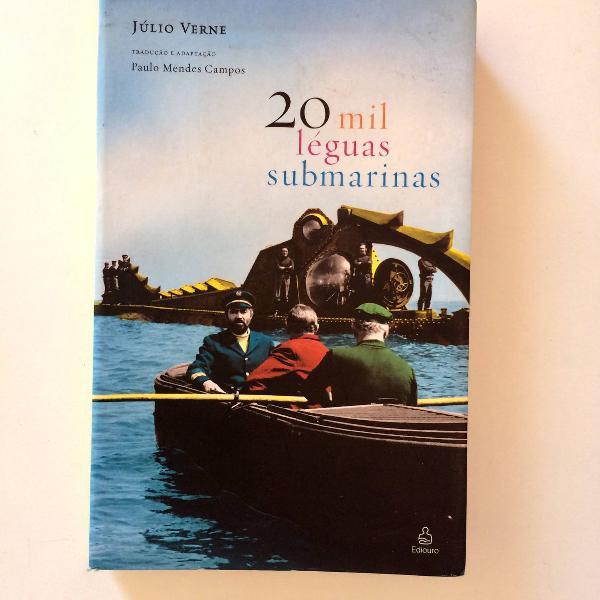Vinte mil léguas submarinas - júlio verne