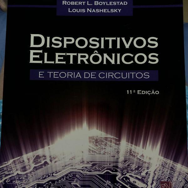 Diapositivos eletrônicos e teoria de circuitos, 11ed robert