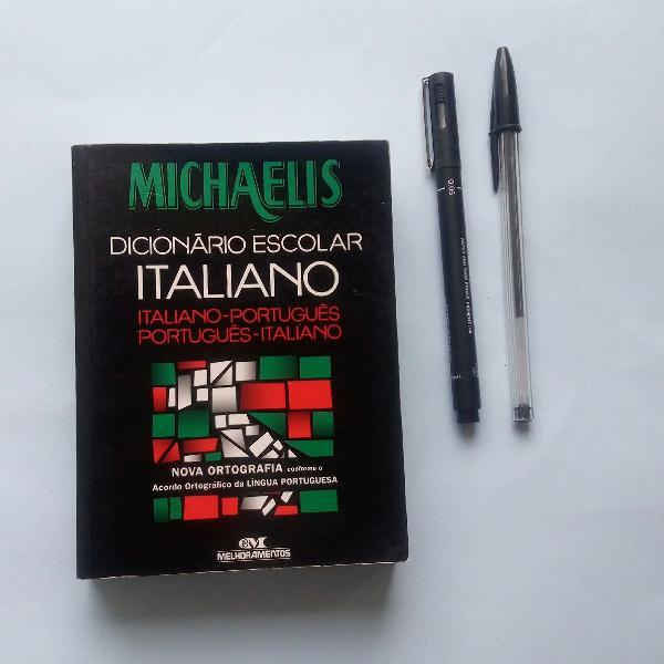 Dicionário escolar italiano