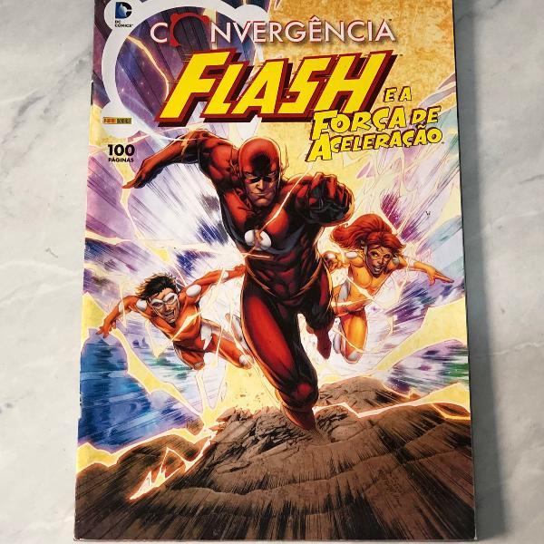 Hq convergência: flash e a força de aceleração