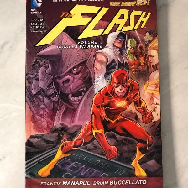 Hq the flash vol.3 gorilla warfare