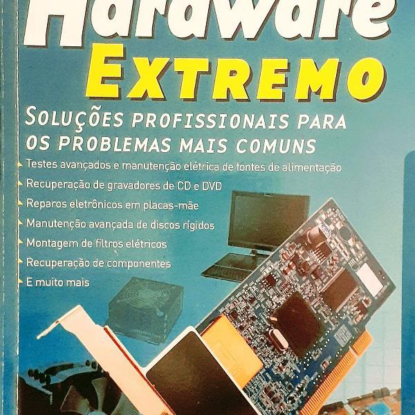 """Kit livros """"hardware extremo"""""""
