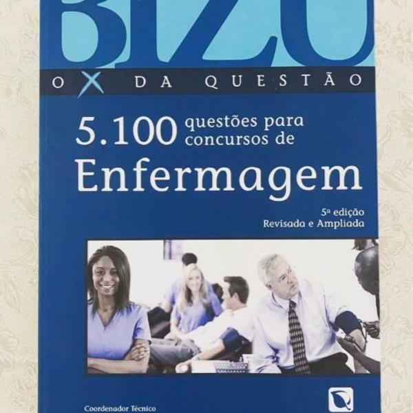 Livro 5.100 questões para concursos de enfermagem