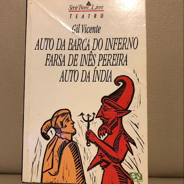Livro: auto da barca do inferno; farsa de inês pereira;