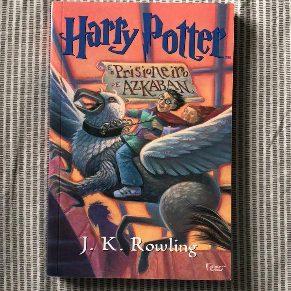 Livro: harry potter e o prisioneiro de azkaban