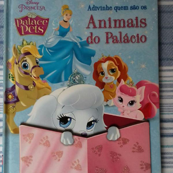 Livro infantil princesa palace pets