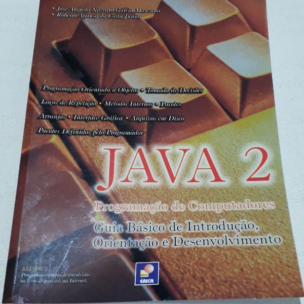 Livro java 2 programação de computadores