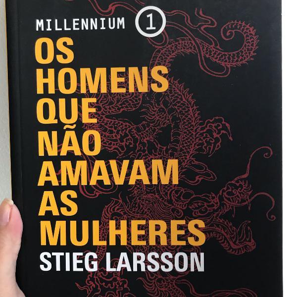 Livro millenium 1 os homens que não amavam as mulheres