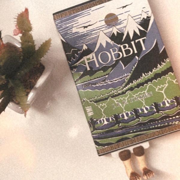 Marcador de pagina - o hobbit