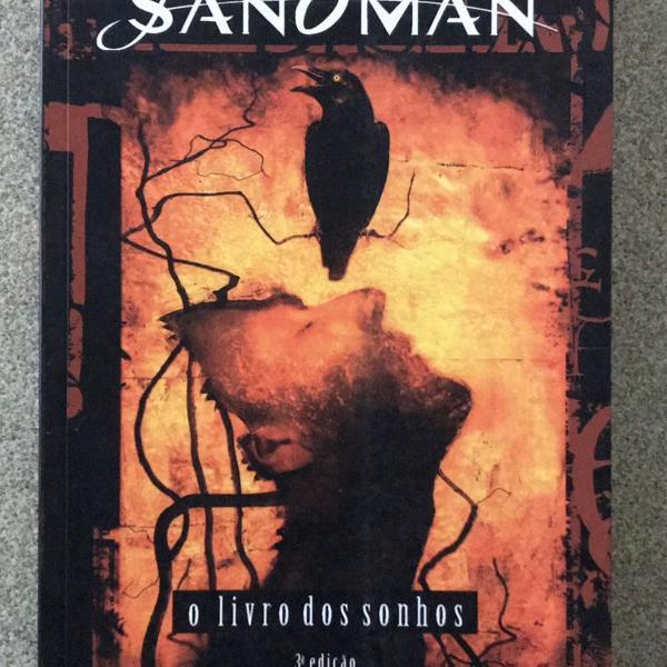 Sandman - o livro dos sonhos - 3a edição - neil gaiman e