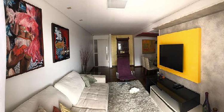 Apartamento para venda com 127 metros quadrados com 3