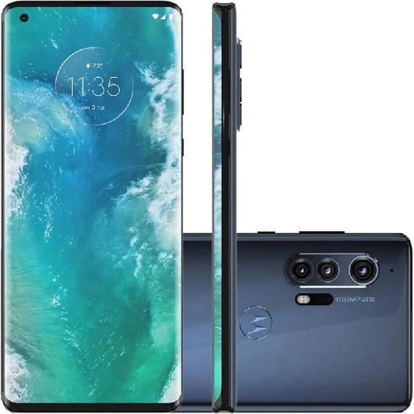 "Smartphone motorola edge plus 6,7"" xt2061-3 12gb ram câmera"