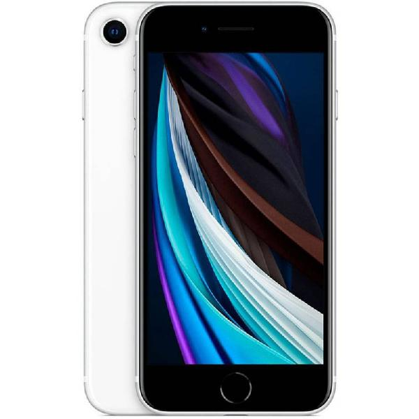 "iPhone SE Apple Tela 4,7"" 64GB iOS 13 4G Touch Chip A13"