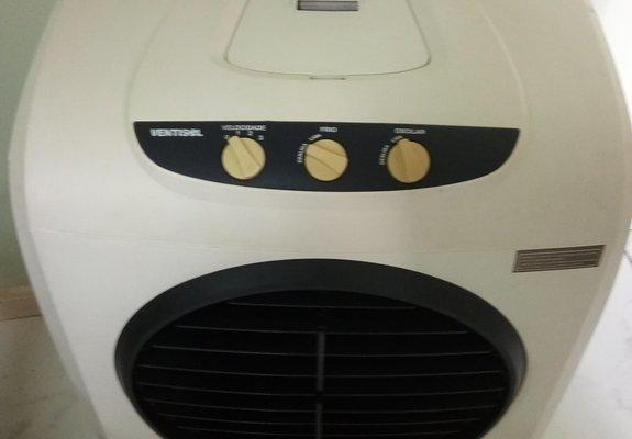Super ventilador e climatizador portátil - ventisol cli-01