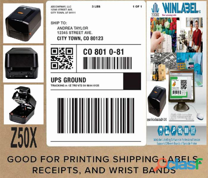 Impressora Térmica de Etiquetas Z50X 4