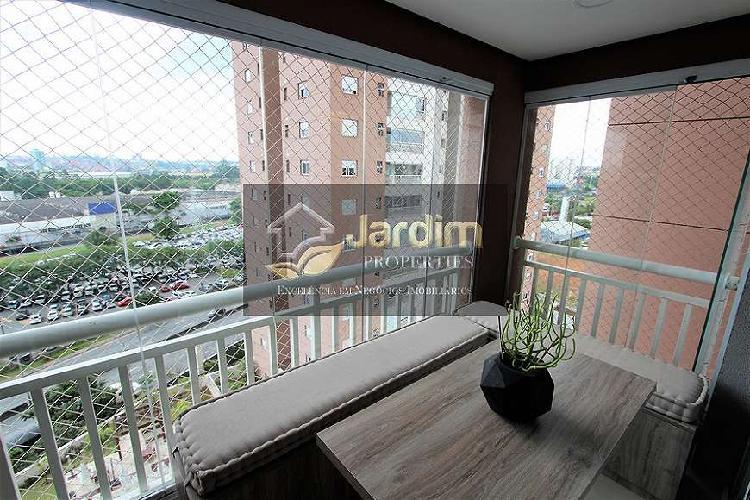 Apartamento com 2 suítes - vila homero thon - santo andré