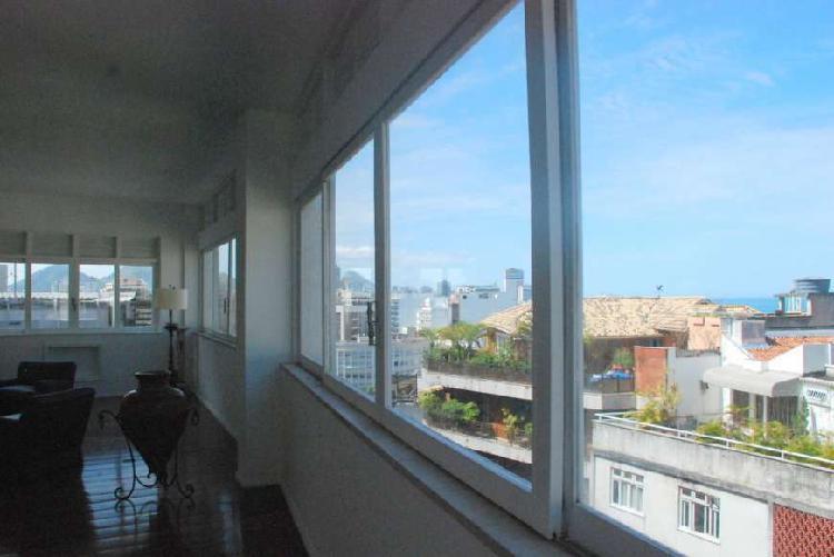 Apartamento para venda com 0 metros quadrados em leblon -